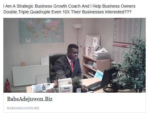 The MAN & The MANDATE!!! - To Help YOU To YOUR NEXT LEVELS - BabsAdejuwon.Biz